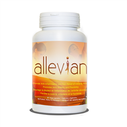 Allevian Inflammation Support - 90 veg caps. (Raw, Organic) *** CLEARANCE BEST BEFORE JANUARY 2020 ***