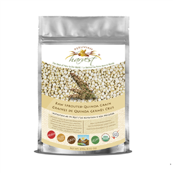 Raw Sprouted Quinoa Grain (Organic) 250 g. - Peruvian Harvest