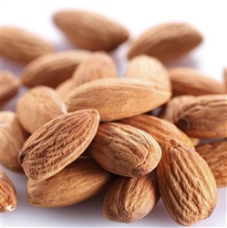 California Almonds Unblanched Whole (Raw, Organic) - 1lb
