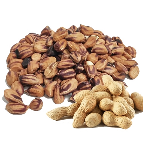 Wild Jungle Peanuts 8 oz. bag (raw, organic) - Upaya Naturals