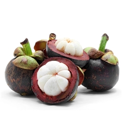 Mangosteen Powder, 8oz, (whole fruit, organic)
